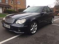 MERCEDES BENZ C220 CDI SPORTS EDITION 6 MONTHS MOT MAY PX OR SWAP