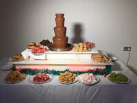 Chocolate Fountain - Wedding Stage - Chair Cover - Candy Floss