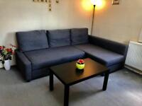 Immaculate Condition IKEA FRIHETEN Grey Corner / L Shape Sofa Bed with Storage £429