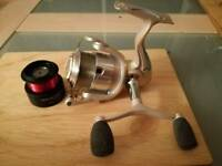Shakespeare mach 1xt front drag fishing reel