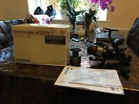 Shimano 5000 RE Aero baitrunners in VGC inc Spare spool and Boxes