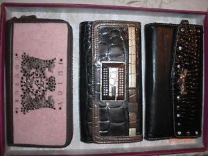 -  - Juicy Couture wallets portefeuille