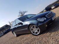 Mercedes Benz c class full leather amg alloys cheap