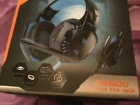 Pro gaming head set for ps3 PS4 x box .