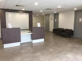 Desk space to rent in modern office space
