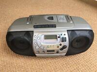 Philips CD Radio Cassette Recorder Model AZ 1518