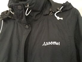 Ladies Black Schoffel SKI Jacket size 12