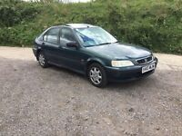 HONDA CIVIC FULL SERVICE HISTORY LOW MILES ONLY 61000 from new mot in vgc totally original 3 keys