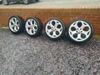 """Ford focus st225 18""""alloy wheels pre facelift"""