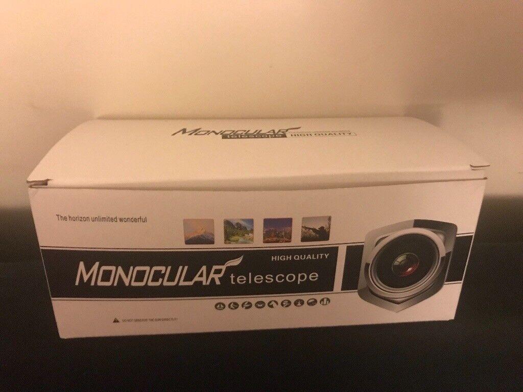 Brand new monocular telescope shockproof and waterproof