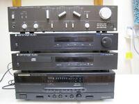 Hi Fi stero system comprising separate units. Technics/Marantz/CambridgeAudio; OIRO £80