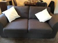 DFS 2 seater sofa with 2 chairs