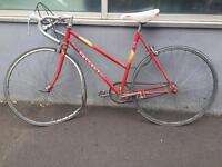 Peugeot ladies bike for spares or restoration