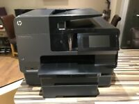 As new HP Office Jet Pro 8620 with additional paper tray