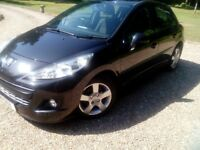 Peugeot 207 HDI Excellent condition,low miles(re advertised due to timewaster)