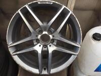 "Original s class 19"" alloy wheel"