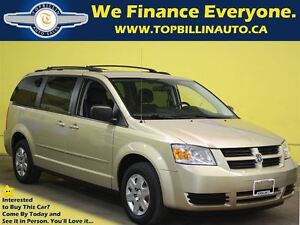 2010 Dodge Grand Caravan SE, Stow N Go, Only 104 Kms, with Warra