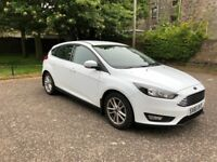 2017 (66) Ford Focus Zetec 1.5 TDCI Auto - Free Road Tax
