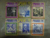 Private Eye satirical magazine - 500+ copies, and extras