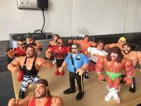 WWF toy figures 1990s