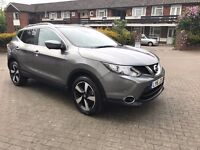 NISSAN QASHQAI 2016 MANUAL 1.2 PETROL TURBO 2900 MILES 1 OWNER FROM NEW