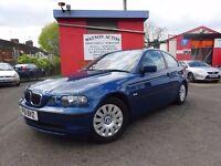 2002 BMW 316 auto ti Compact - 83,000 MILES - APR 18 MOT - SUPERB