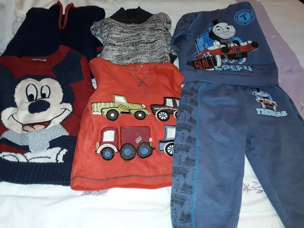 Boy's Winter Jumper Clothes Bundle,Size 2-3years old,Great Condition