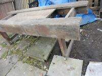 LARGE VINTAGE JOINERS BENCH