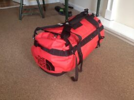 North Face Duffle Bag, Large 95 litres, RED