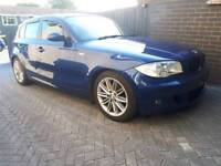 Bmw 120d met blue 5 dr