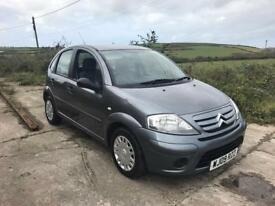 CITROEN C3 VTR 1.4 16V 5DR GREY 2009 LOW MILES