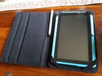 Black 7 inch Tablet Case and Stylus