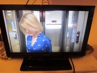 Toshiba 19EL833B 19inch led TV with free view build in and remote control