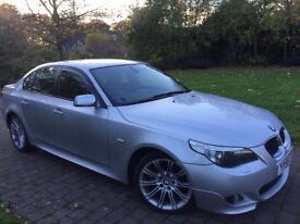 2005 Bmw 520d M sport Manual 6 speed heated seats I drive system Front and rear parking sensors