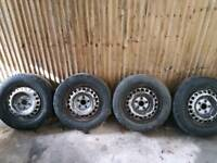Vw T5 transporter wheels