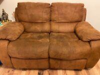 2 seater sofa x2
