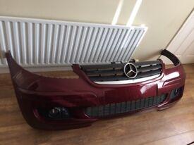 Mercedes A Class front bumper complete plus headlamp