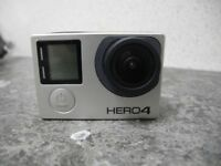 GoPro Hero 4 Black Camcorder With Charger No Protective Case