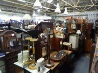 antique, retro & household furniture, vinyl, vintage clothing, art, antiques sale this Monday 11-4pm