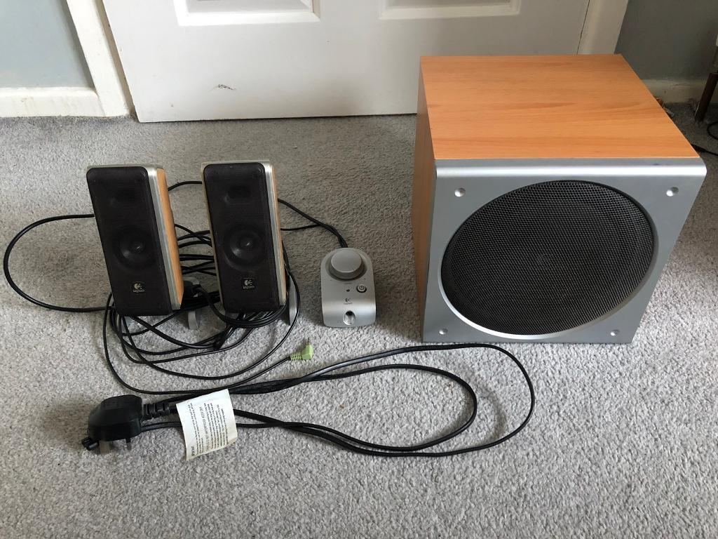 c64f175ef63 Logitech Z3 Speakers in Perfect working order | in Kingswood, Bristol ...