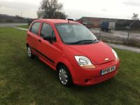 55 REG CHEVROLET MATIZ .80 S- 12 MONTHS MOT TEST- 2 KEYS- SLIGHT MISS, DRIVES WELL