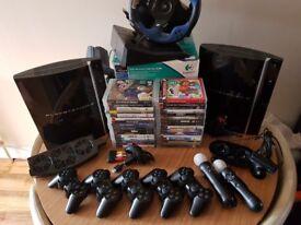 Big bargain. 2x PS3 + accesories