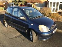 Toyota Yaris 1.3cc Lady Owned Automatic Long MOT Low Mileage....Bargain!