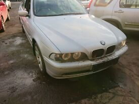 BMW 525i E39 M54 Petrol Saloon Silver BREAKING PARTS SPARES Parting Leather interior seats