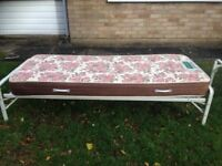 Ideal for guests over Xmas. 2 easy to store , comfortable 2'6'' beds with mattresses.