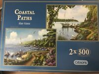 Costal path Gibson jigsaws x 2 500pce