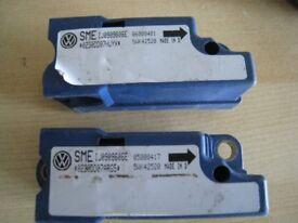 air bag crash sensor AUDI VW SEAT SKODA code SMEIJ0909606E