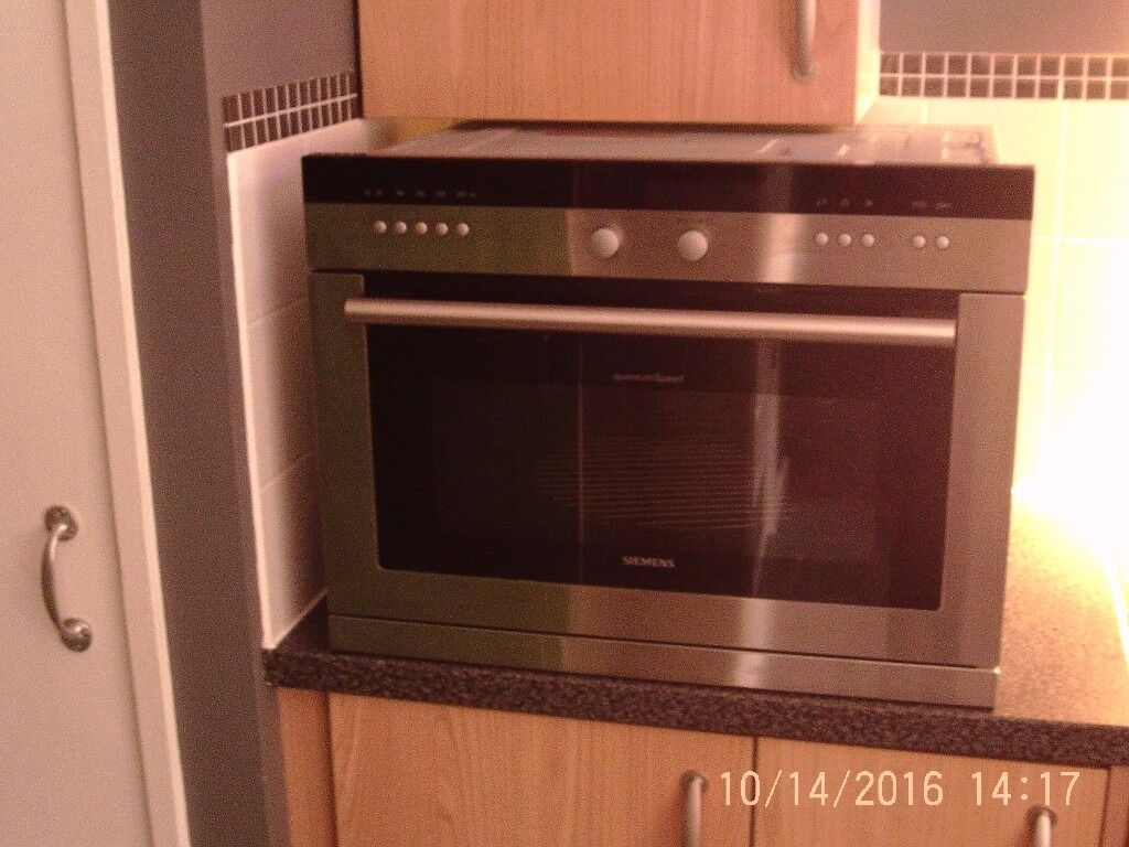 Siemens Hb86q560b Quantum Speed Built In Microwave Combi