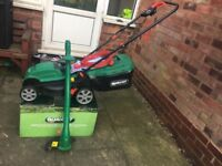 Lawnmowers & Trimmers 1300w 34 cm blade width 10 m power cable Weight 10kg