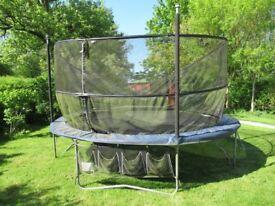 14' Round Jumpking JumpPOD Deluxe trampoline.